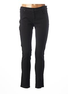 Pantalon casual noir ANNA SCOTT pour femme
