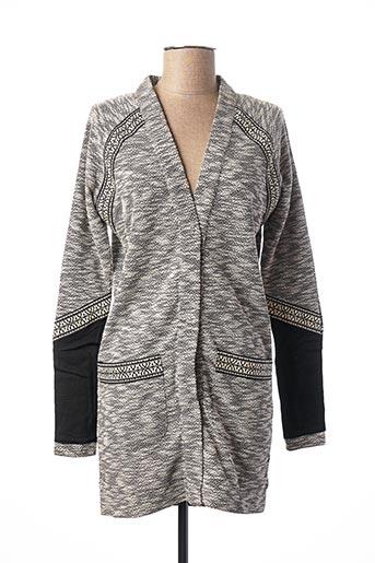 Veste casual gris ANNA SCOTT pour femme