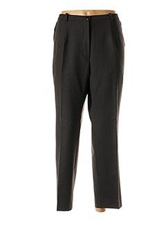 Pantalon 7/8 gris CLAUDE DE SAIVRE pour femme