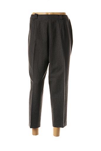 Pantalon 7/8 gris ANNE D'ALETH pour femme