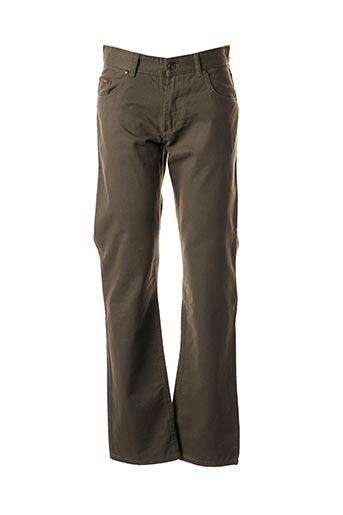 Pantalon casual marron IZAC pour homme