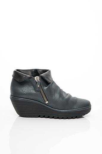 Bottines/Boots gris FLY LONDON pour femme