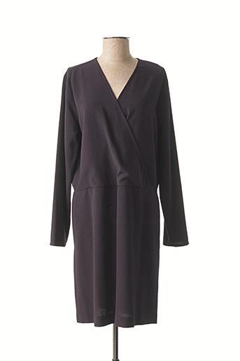 Robe mi-longue noir HARTFORD pour femme