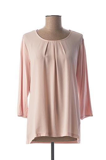 T-shirt manches longues rose BIANCA pour femme