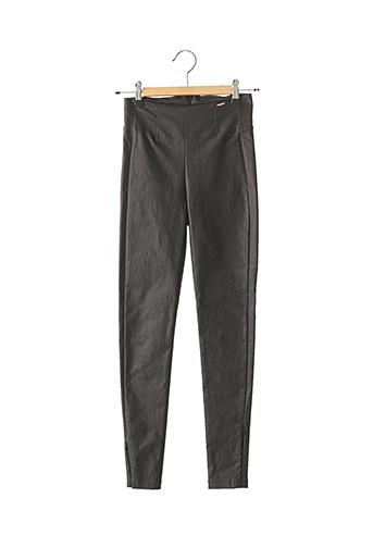 Pantalon 7/8 noir FRACOMINA pour femme