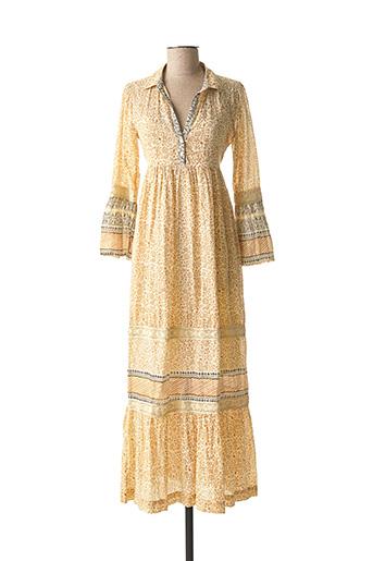 Robe longue beige STELLA FOREST pour femme