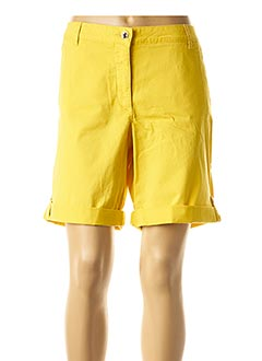 Short jaune BETTY BARCLAY pour femme