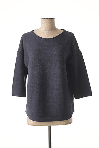 Pull col rond bleu BETTY BARCLAY pour femme