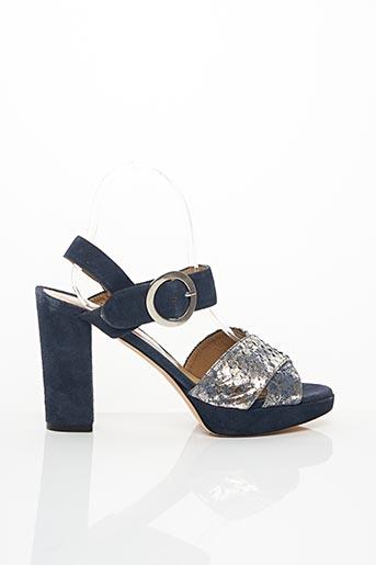 Sandales/Nu pieds bleu CRISTINA MILLOTTI pour femme