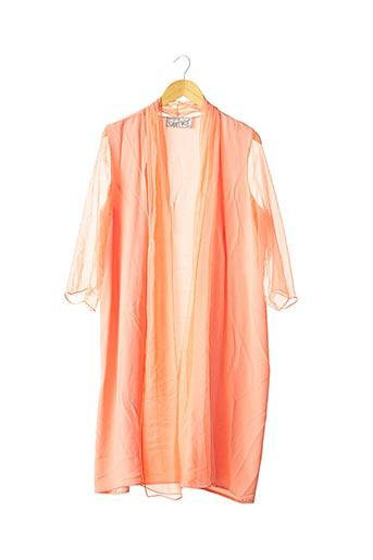 Gilet manches longues orange CATHERINE VARNIER pour femme