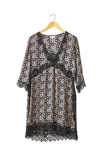 Robe mi-longue noir BY SOPHIE pour femme