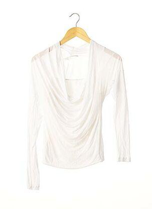 T-shirt manches longues blanc D.EXTERIOR pour femme