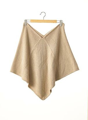 Poncho beige REGINA RUBENS pour femme