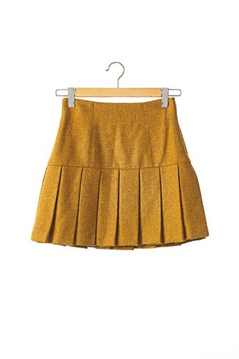 Jupe courte jaune DOLCE & GABBANA pour femme