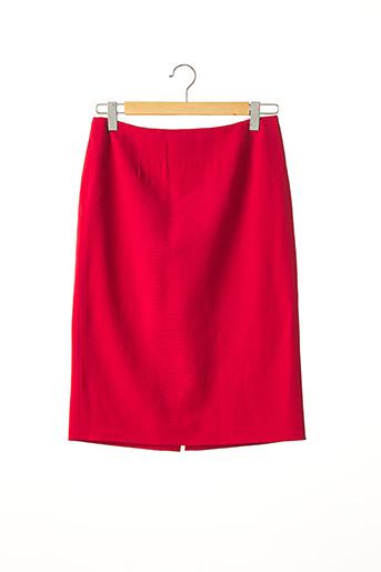 Jupe mi-longue rouge CHRISTIAN DIOR pour femme