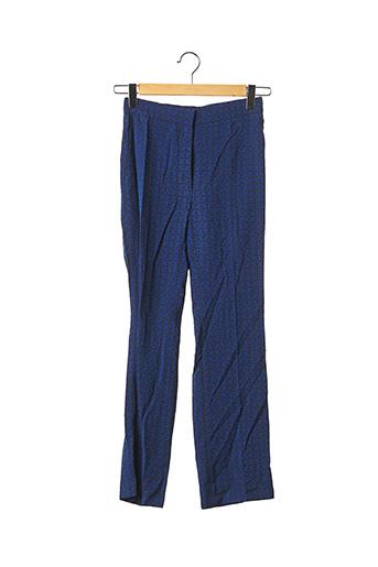 Pantalon chic bleu SANDRO pour femme
