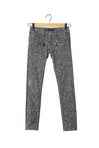 Pantalon casual gris BARBARA BUI pour femme