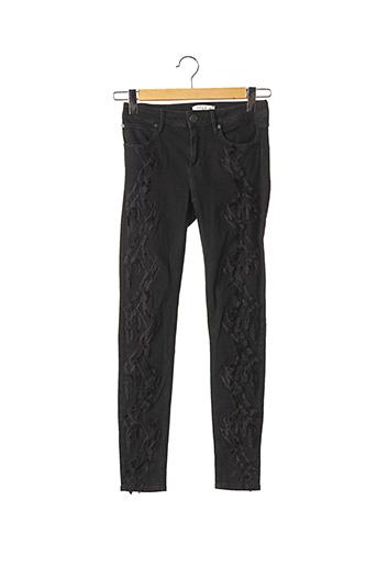 Pantalon casual noir SANDRO pour femme