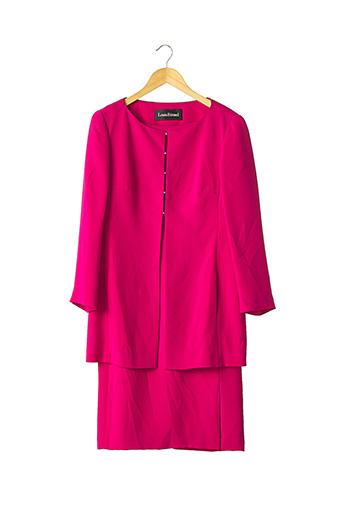 Veste/robe rose LOUIS FERAUD pour femme
