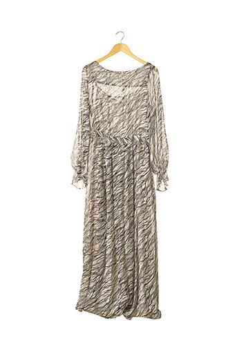 Robe longue beige GERARD DAREL pour femme