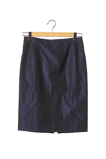 Jupe mi-longue bleu FERAUD pour femme