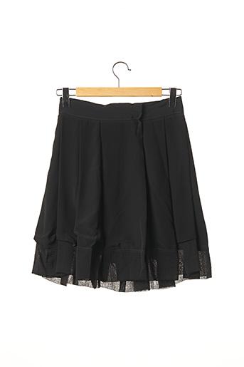 Jupe mi-longue noir CHLOE pour femme