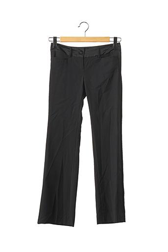 Pantalon chic noir DOLCE & ROSA pour femme