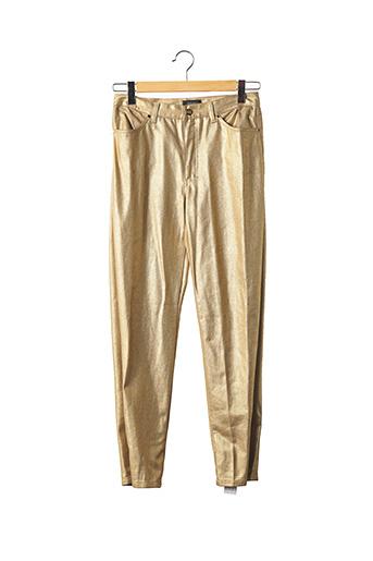 Pantalon casual jaune VERSACE pour femme