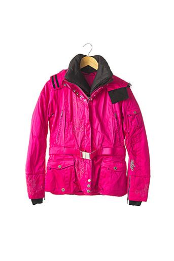 Parka rose DEGRE7 pour femme