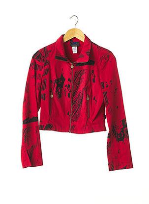 Veste casual rouge CHRISTIAN LACROIX pour femme