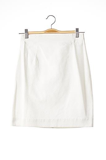 Jupe courte blanc COURREGES pour femme