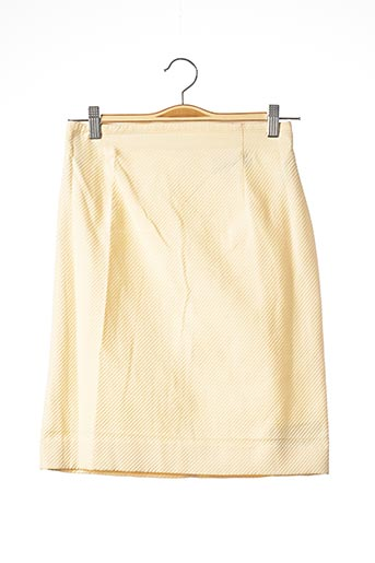Jupe mi-longue beige COURREGES pour femme