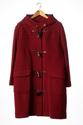Manteau long orange ESTABLISHED 1976 pour femme