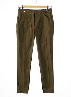 Pantalon 7/8 vert COURREGES pour femme