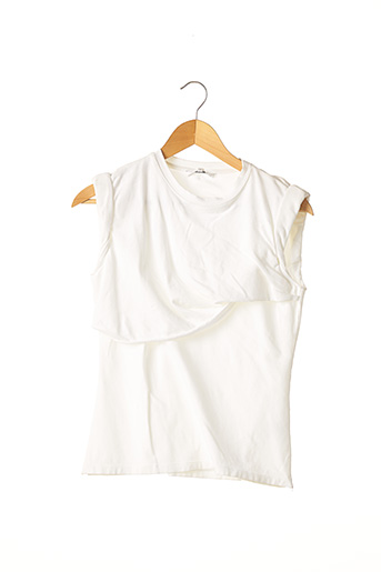 T-shirt manches courtes blanc CARVEN pour femme