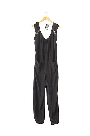 Combi-pantalon noir BEL AIR pour femme