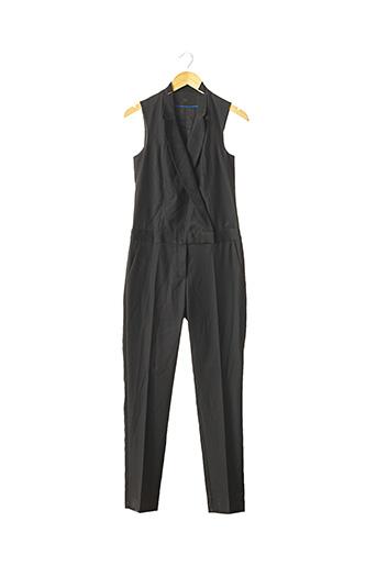 Combi-pantalon noir COMPTOIR DES COTONNIERS pour femme