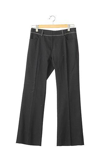 Pantalon casual noir FRANCESCO FERRI pour femme