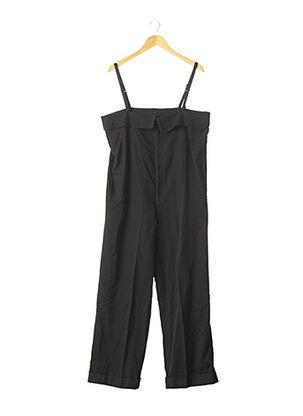 Combi-pantalon noir YOHJI YAMAMOTO pour femme