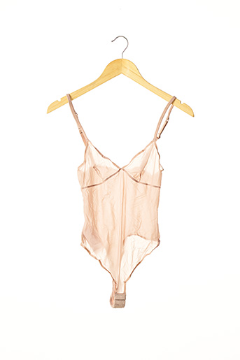 Body lingerie rose ERES pour femme