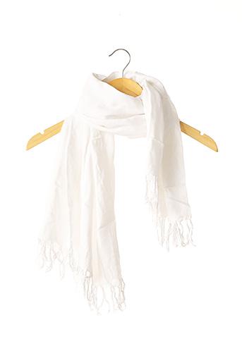 Foulard blanc SANS MARQUE pour femme
