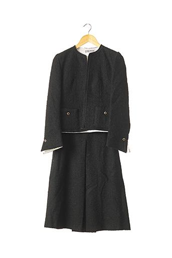 Veste/jupe noir PAULA KLEIN pour femme