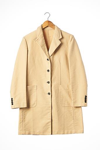 Manteau long beige ARTHUR & FOX pour homme