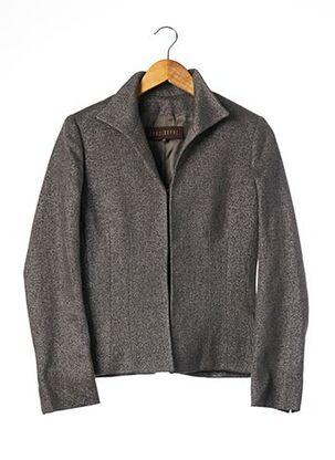 Veste chic / Blazer gris APOSTROPHE pour femme