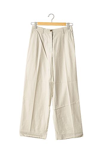 Pantalon 7/8 gris DRIES VAN NOTEN pour femme