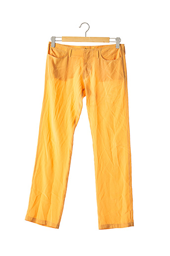 Pantalon chic orange FENDI pour femme