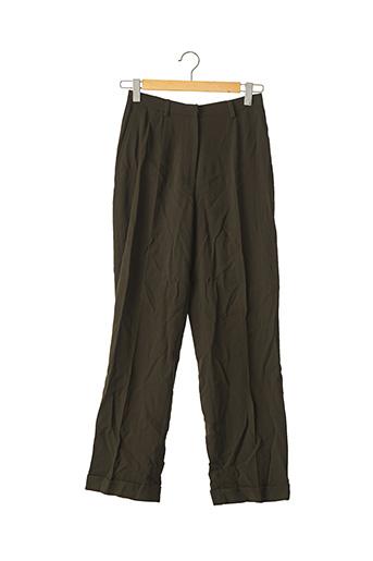 Pantalon chic vert APARA pour femme