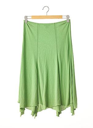Jupe mi-longue vert ANGELO MARANI pour femme