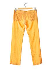 Pantalon chic orange FENDI pour femme seconde vue