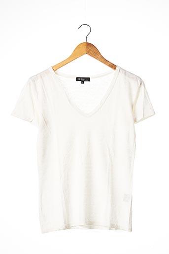 T-shirt manches courtes beige ISABEL MARANT pour femme